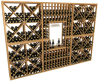 Home Collector Series - Stackable, Modular Wine Cellar Kits