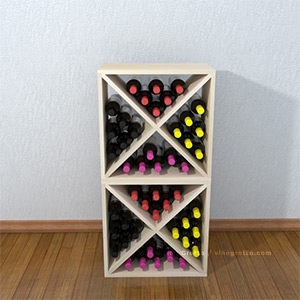 Wine Cubes and Diamond Bin Wine Racks