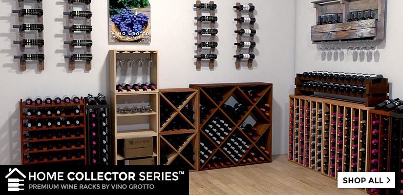 Home collector series wine racks by vino grotto for Wine grotto design