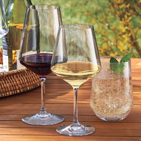 Shatter proof glassware