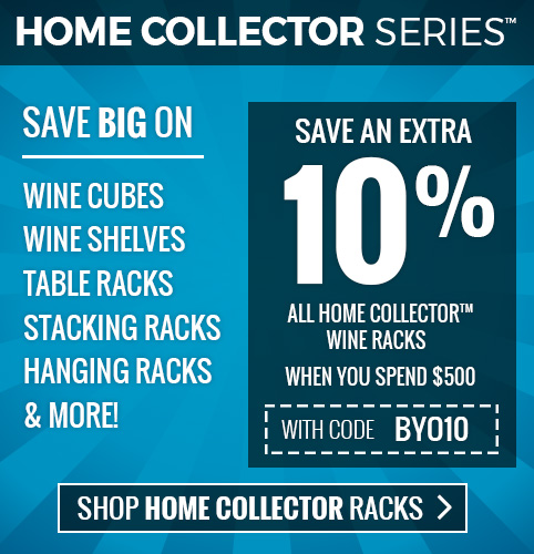 Save extra 10% + free shipping on Home Collector Series racks