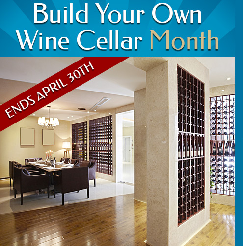 Build Your Own Wine Cellar Sale - Save extra 30% + free shipping