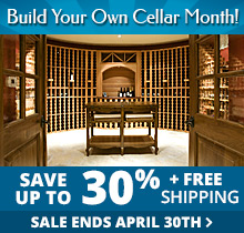 Build Your Own Wine Cellar Sale - Save up to 30% + Free Shipping