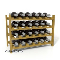 24 Bottle Shelf - Pine Oak Stain