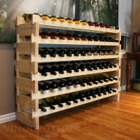 Easy Stackable Wine Racks in Premium Pine