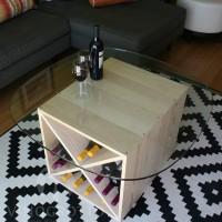 VINOGROTTO-WC-24-X2-P - 48 Bottle Wine Cube Set in Premium Pine