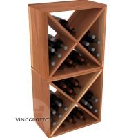 VINOGROTTO-WC-24-X2 - 48 Bottle Wine Cube Set - Redwood Showcase