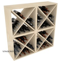 VINOGROTTO-WC-24-X4 - 96 Bottle Wine Cube Set