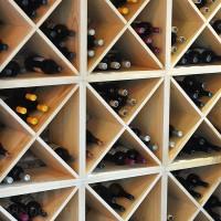 Stackable Wine Cubes in Premium Pine