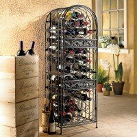 Renaissance Wrought Iron Wine Jail - 45 Bottles