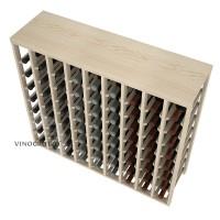 72 Bottle Table Wine Rack - Pine Detail