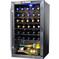 NewAir AWC-330E – 33 Bottle Compressor Wine Cooler