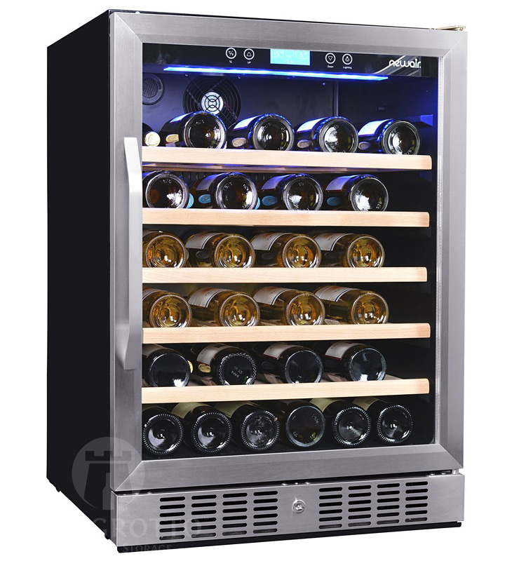 Newair Awr 520sb 52 Bottle Compressor Wine Cooler