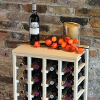 VINOGROTTO-TT-24-P, 24 Bottle Table Rack - Fall Pine