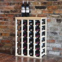 VINOGROTTO-TT-24-P, 24 Bottle Table Rack - Pine