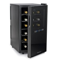Wine Enthusiast Silent 18 Bottle Dual Zone Touchscreen Wine Refrigerator