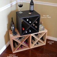 12 Bottle Wine Cube Group x3