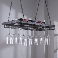 Metal Hanging Stemware Rack