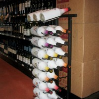 Vintage View 27 Bottle Point of Purchase Display Rack