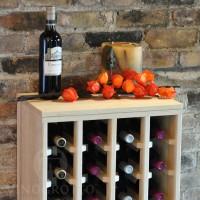 VINOGROTTO-DTT-24-P - 24 Bottle Table Top - Pine Fall