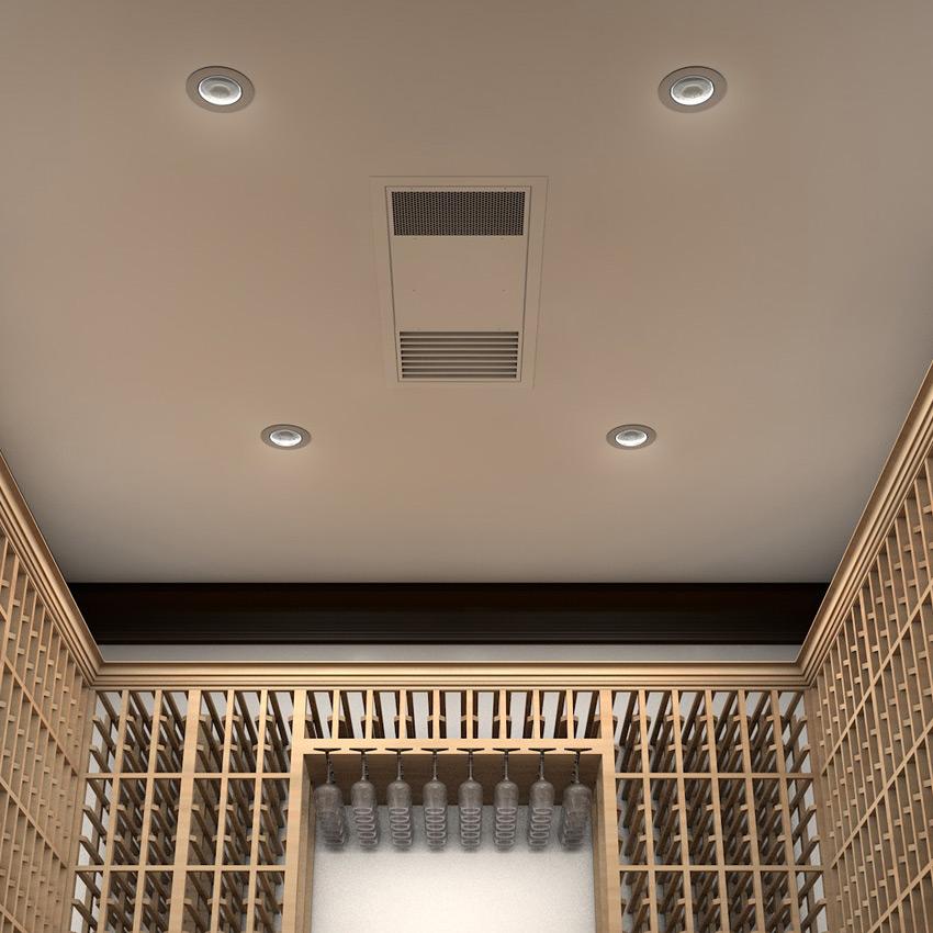 Light Industrial Units Hampshire: Whisperkool 4000 Ceiling Mount Split System