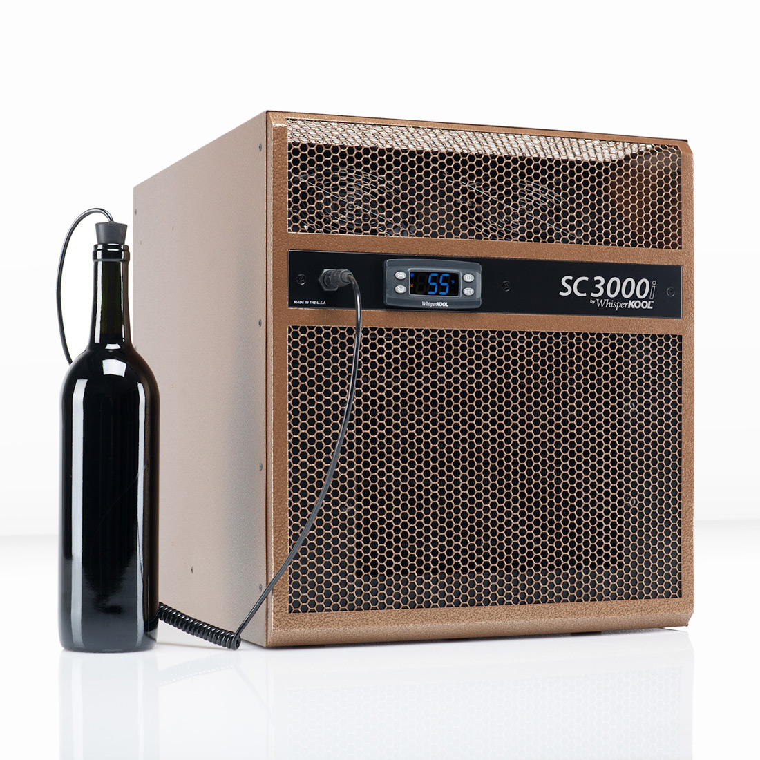 Room Cooling Units : Whisperkool sc i through wall wine cellar cooling