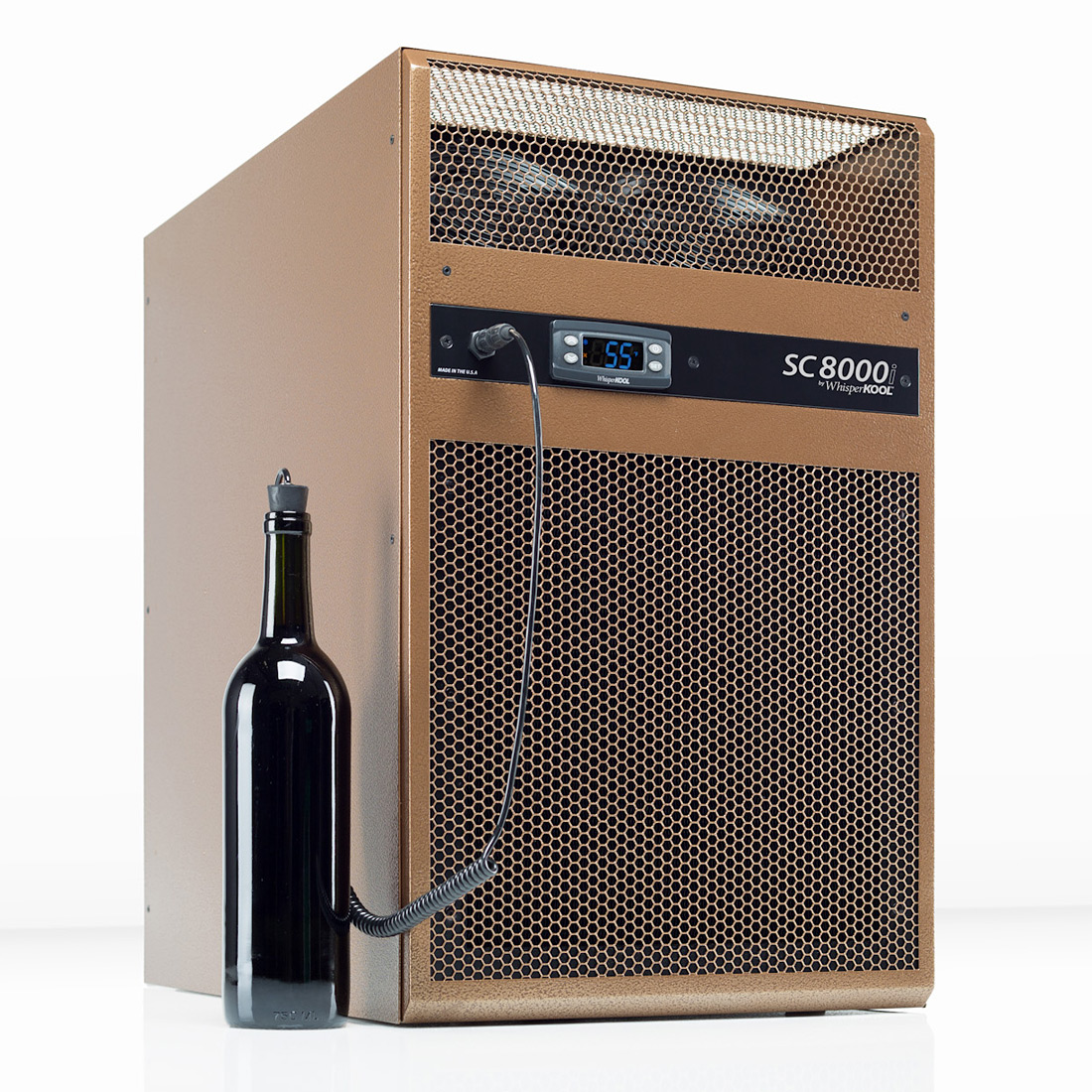 Room Cooling Units : Whisperkool sc i through wall wine cellar cooling system