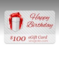 $100 eGift Card - birthday Showcase