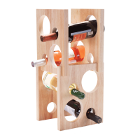 8 Bottle Astro Wine Rack
