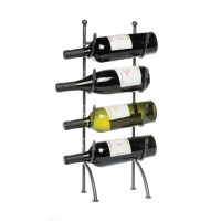 4 Bottle Piccolo Wine Rack