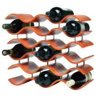Bali 15 Bottle Wine Rack (Spiced Pumpkin)