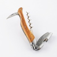 Olive wood corkscrew