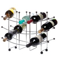15 Bottle Fusion Wine Rack
