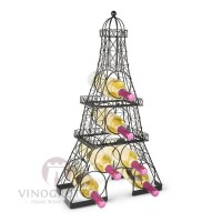 6 Bottle Eiffel Tower Wine Rack