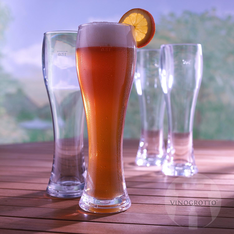 Indoor/Outdoor Pilsner Glasses (Set of 4)