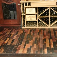 Wine Infusion - Wine Barrel Flooring