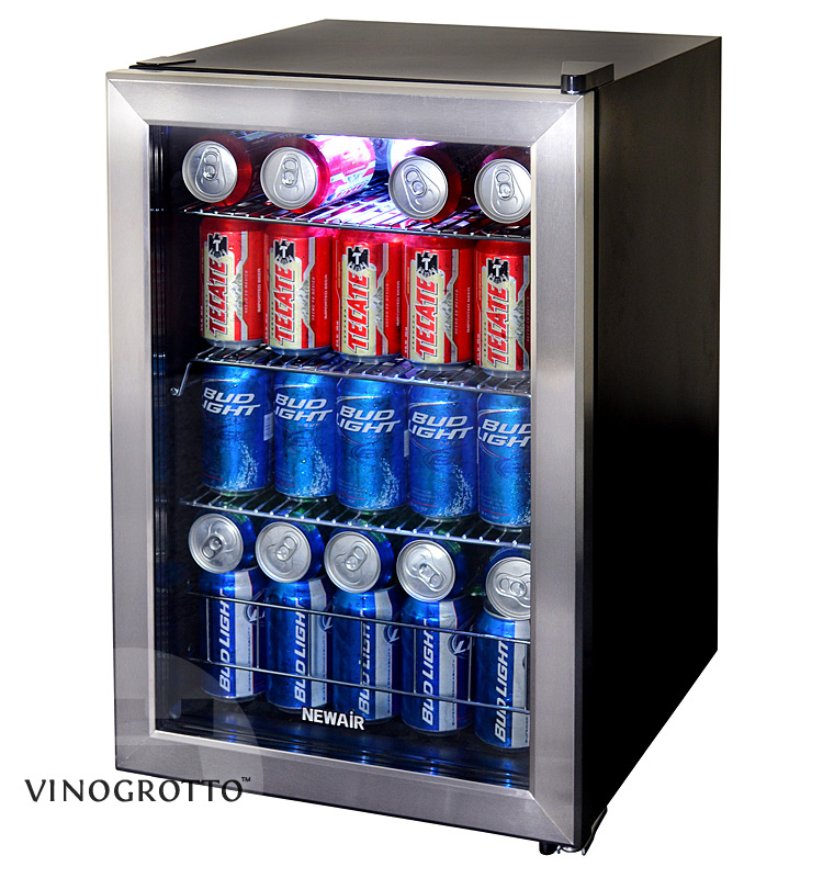 Countertop Beverage Cooler : NewAir AB-850 84 Can Beverage Cooler - VinoGrotto