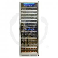Vinotemp 155-Bottle Dual-Zone Connoisseur Series Wine Cooler