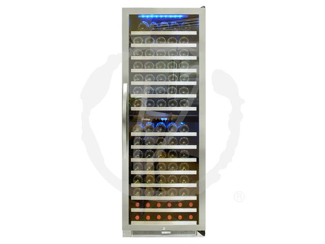 Vinotemp 155-Bottle Dual-Zone Connoisseur Series Wine Cooler