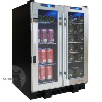 Vinotemp VT-36 Mirrored Touch Screen Wine and Beverage Center