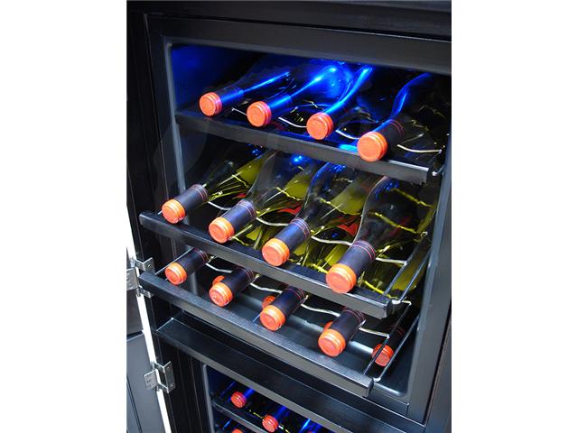 Vinotemp Cava Series - 48-Bottle Wine Cellar in Espresso