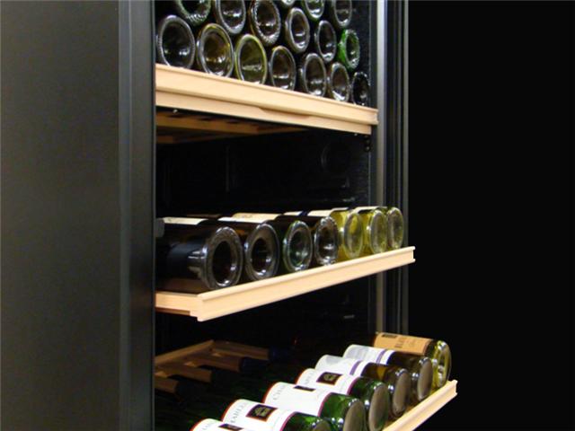Vinotemp - VinoCellier Solid Door Wine Cabinet
