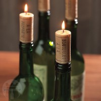 Wine Cork Candles (Set of 4)