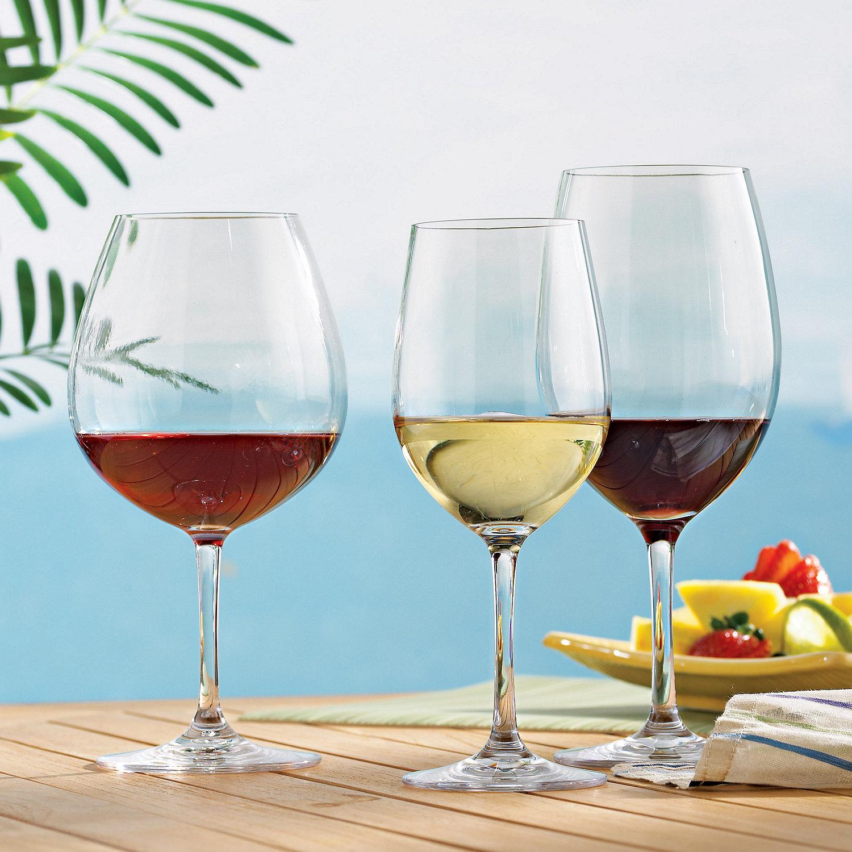 Indoor/Outdoor Wine Glasses Party Set (Set of 12)