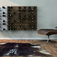 STACT Wine Wall Rack - Walnut
