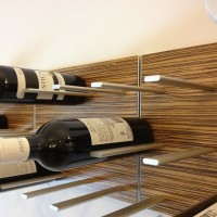 STACT Wine Rack - Zebrano