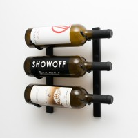 Vintage View WS11 Wine Rack - Satin-Black Showcase