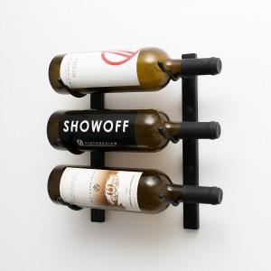 Vintage View WS11 Wine Rack - Satin-Black Showcase