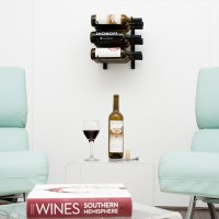 Vintage View WS13 - 9 Bottle Wine Rack - Satin Black