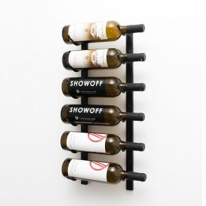 Vintage View WS21 - 6 Bottle Wine Rack - Satin-Black Showcase